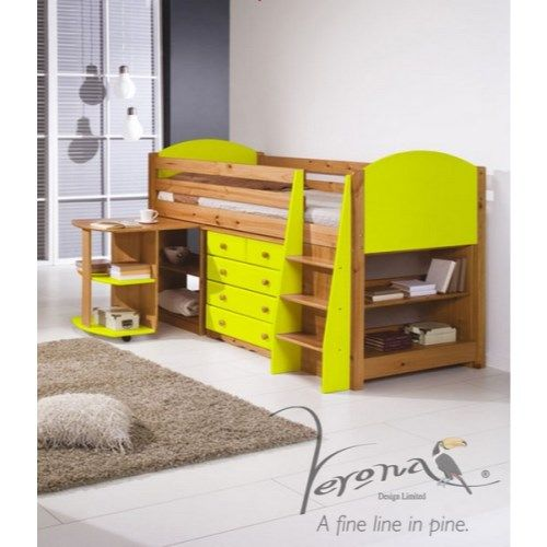 Verona Design Verona Mid-Sleeper Bedroom Set with Pull Out Desk in Antique Pine and Limehttp://furniture123.co.uk/verona-mid-sleeper-bedroom-set-with-pull-out-desk-in-antique-pine-and-lime_36285