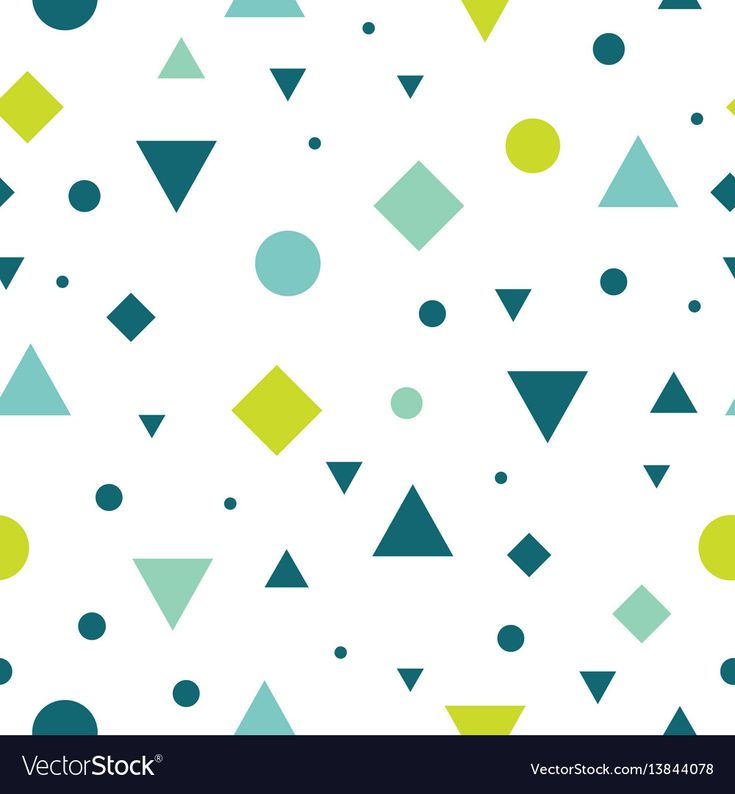 Vector Blue and Green Vintage Geometric Shapes Seamless Repeat Pattern Background. Perfect For Fabric, Packaging, Invitations, Wallpaper, Scrapbooking. Surface pattern design. Download a Free Preview or High Quality Adobe Illustrator Ai, EPS, PDF and High Resolution JPEG versions.
