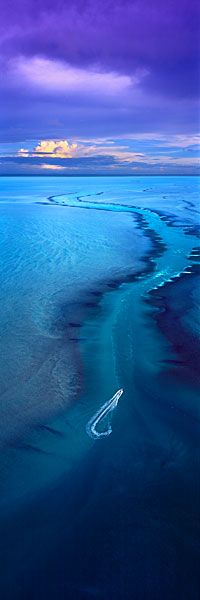 Ocean River, Montgomery Reef, Australia