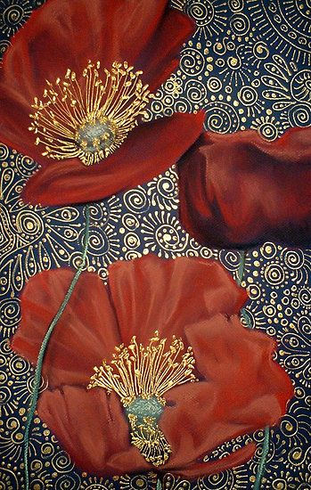Red Poppies by Cherie Roe Dirksen.  Come join me at http://wordpress.us2.list-manage.com/subscribe?u=de82d88d55984d721f7479aef=f442a64e3d