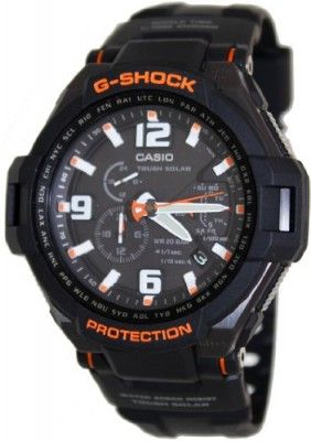 Relógio Casio Men's G1400-1adr G-shock Aviation Black Resin Multi-function Watch #relogio #Casio