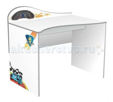 Grifon Style Письменный стол R800  — 7500р. --------------------  Grifon Style Письменный стол R800 – удобный, эргономичный стол от российской фирмы Grifon Style. Оригинальный дизайн, выполненный в стиле всей коллекции отлично дополнит интерьер детской комнаты или спальни.  Письменный стол приспособлен для работы с компьютером. Корпус изделия изготовлен из экологически чистых материалов.  Письменный стол – это травмобезопасная конструкция, поэтому вы всегда будете спокойны за своего малыша…