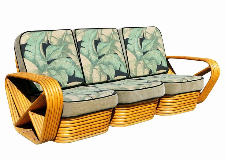 Far from a one-trick pony, Frankl produced numerous other pieces, including sofas and chairs with rattan frames — inspired by Chinese and Japanese forms and materials.