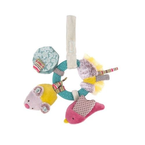 Early-learning rattle Les Pachats Moulin Roty