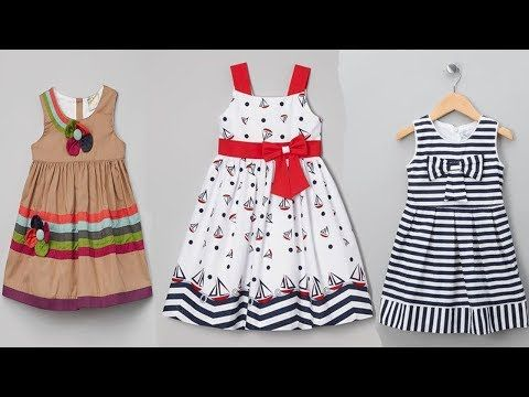 03b4a4f19cd27 baby cotton frock 2018 - latest baby kids cotton frocks design ...