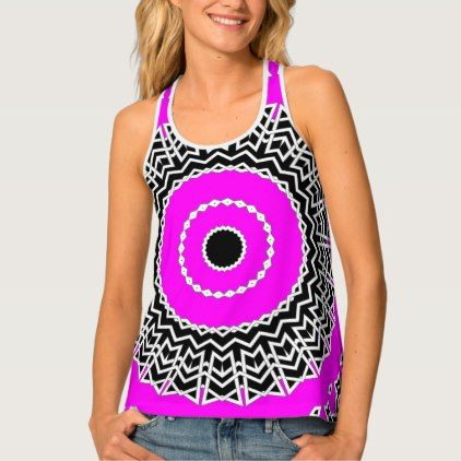 Prism Mandala ( Pink ) Tank Top  $40.05  by StyledTyle  - cyo customize personalize unique diy idea