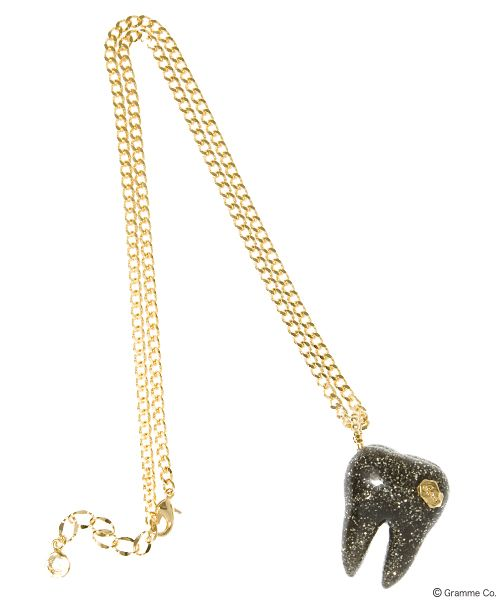 Tooth Necklace (BLK)