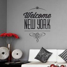 Sticker Welcome New York Gali Art