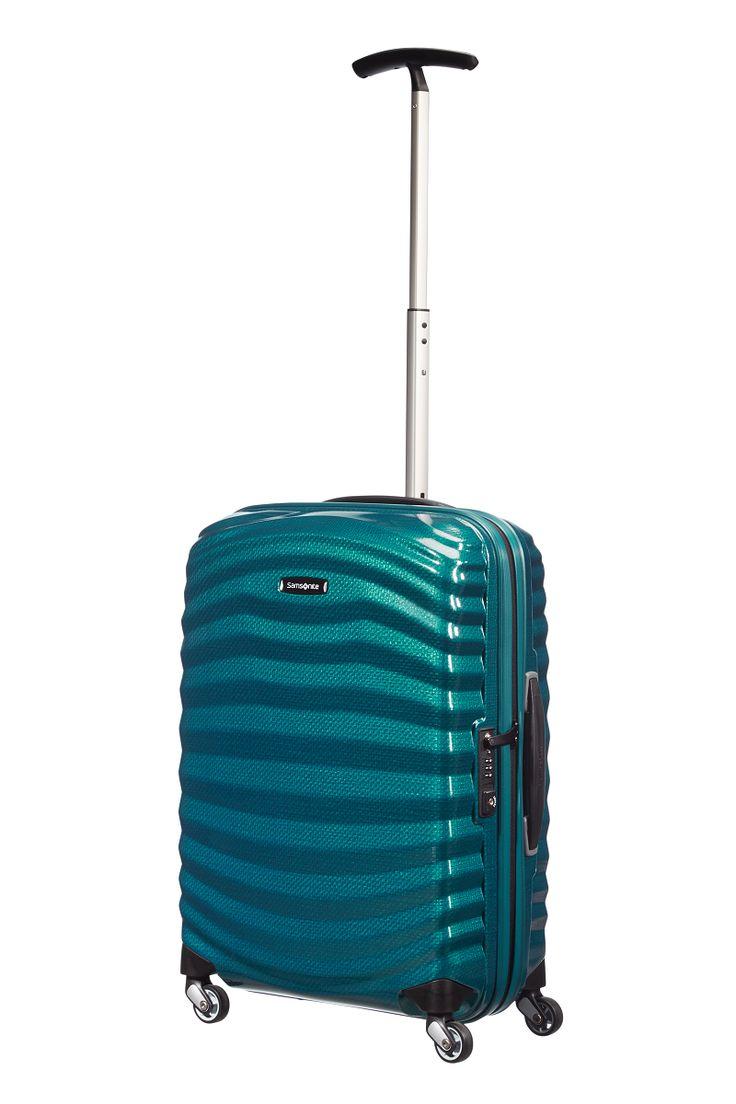 Lentolaukku Samsonite Lite-Shock spinner 55cm (Sininen) - Lentolaukut kovat - 98v-01-001 - 1