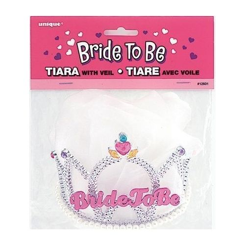 Bride To Be Tiara and Veil - $7.95 See more at http://myhensparty.com.au/