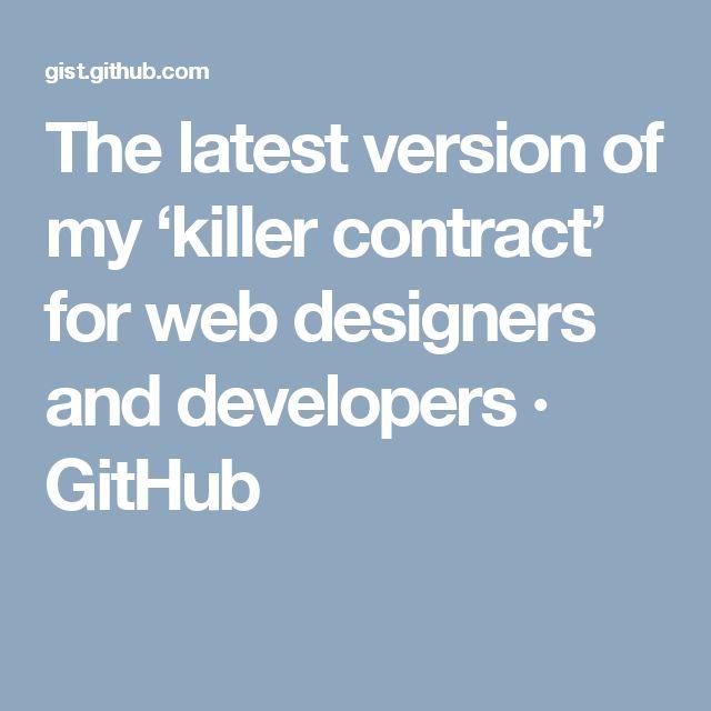 Best 25+ Web design contract ideas on Pinterest Dashboard ui - website development agreement