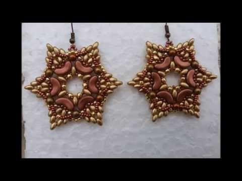DIY tutorial orecchini con Arcos Stelle d'autunno in collaborazione con Perline e Gioielli - YouTube