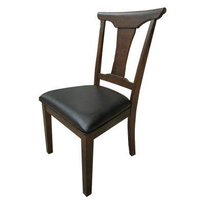 A-America Brooklyn Heights T-Back Side Dining Chair - Set of 2 - AAME476