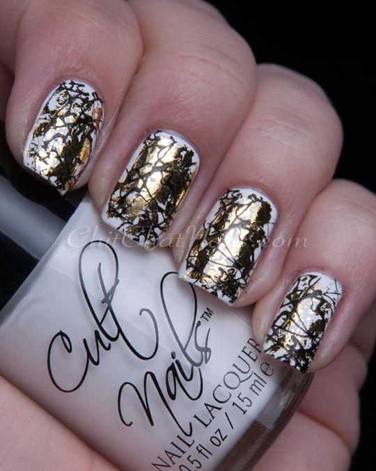71 best Ongles avec foil images on Pinterest | Nail scissors, Cute ...