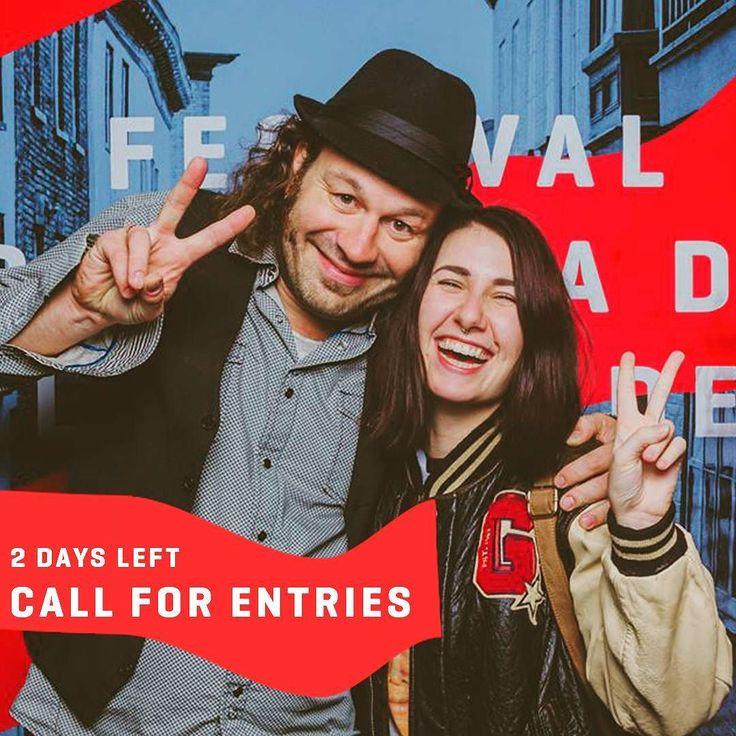 Call for entries!  Appel de films!  2 days left plus que 2 jours / / / / / #callforentries #appeldefilms #filmfestivals #festivallife #cinema #potd #picoftheday #indiefilmmaker #indiefilms #indiefilm #quebeccity #quebec #QcPower