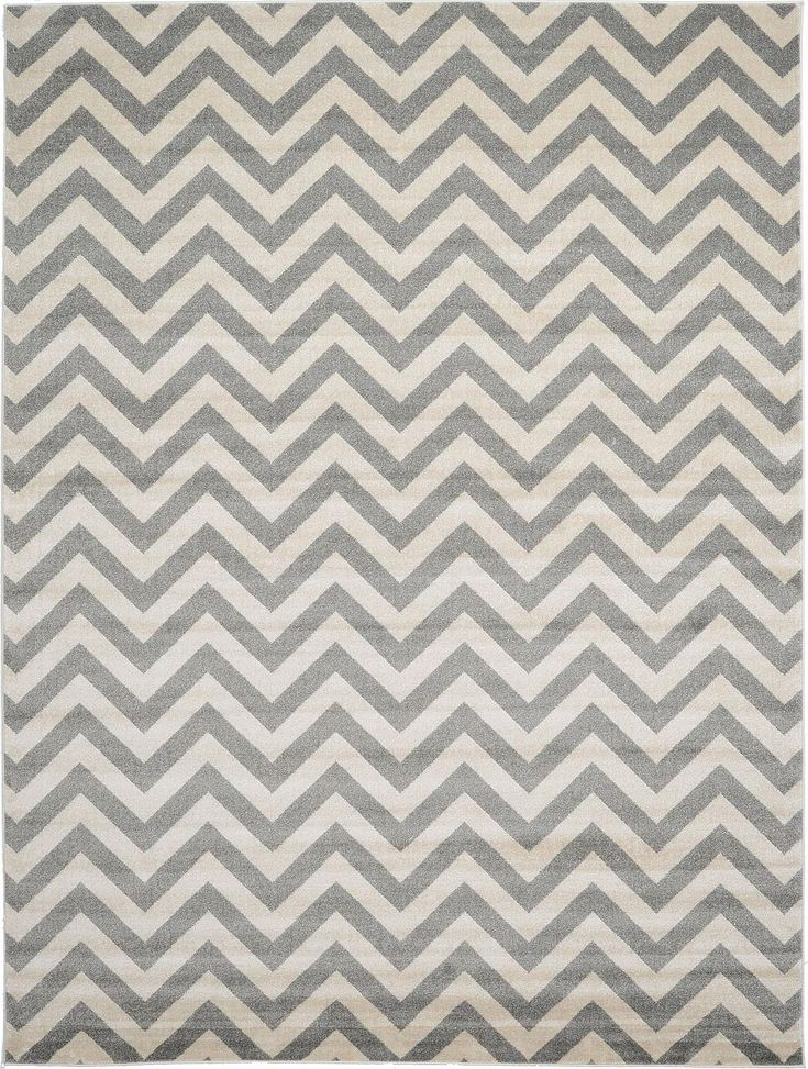 Gray 9' x 12' Chevron Rug | Area Rugs | eSaleRugs                                                                                                                                                                                 More