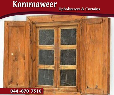 #ThrowbackThursday: Until the latter part of the 16th century, window curtains were virtually non-existent. Instead, internal wooden shutters were used to keep out light and cold. #Kommaweer