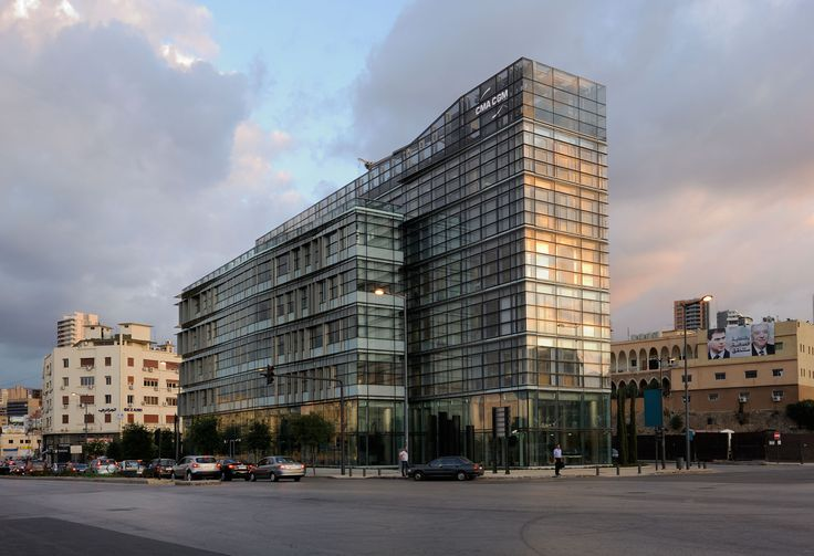 Gallery of CMA-CGM Headquarters / Nabil Gholam Architects - 1