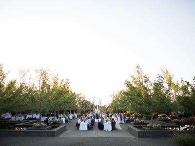 Beautiful Wedding at The Oregon Garden