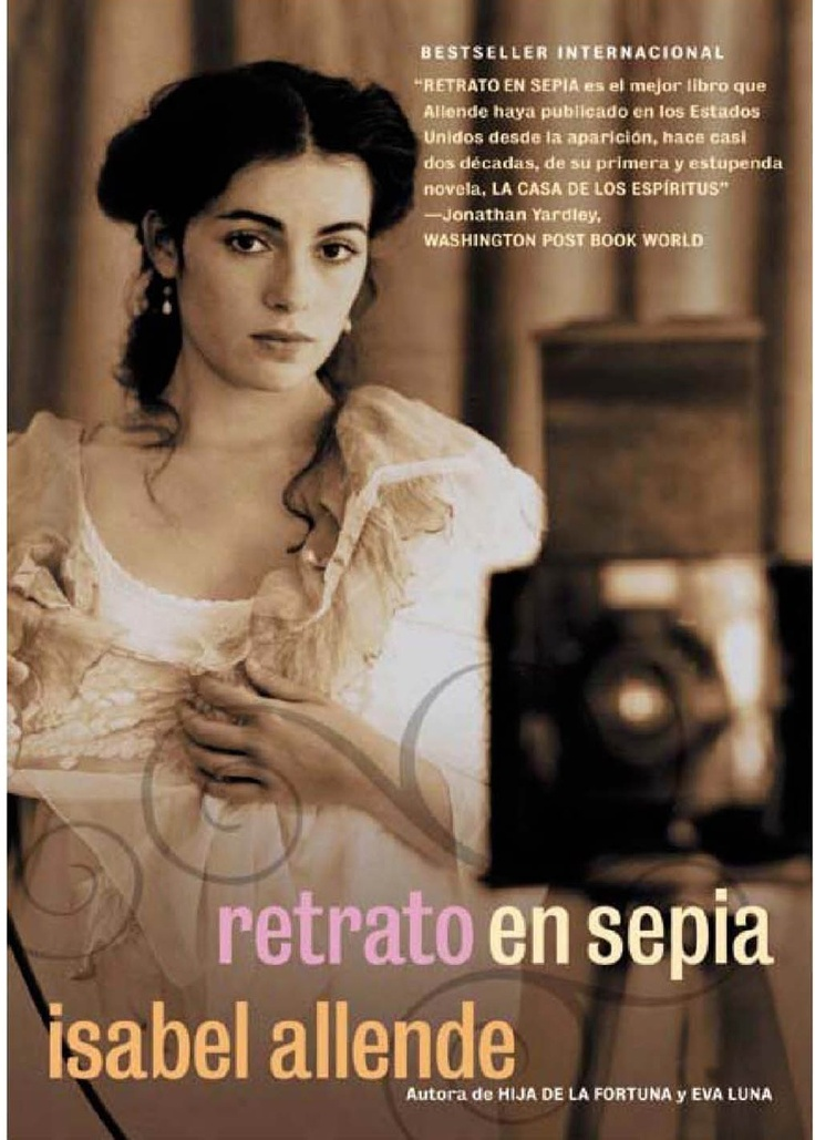 Retrato en Sepia/Portrait in Sepia-Isabel Allende. - Im seriously in love with this book. Isabel Never disappoints me :)