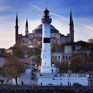 Ahırkapı Lighthose, Istanbul, Turkey
