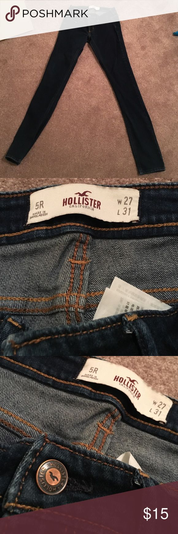 Hollister Jeans! Regular fitting Hollister Jean Pants! 5R, W 27, L 31 Hollister Jeans Straight Leg