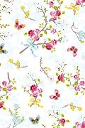 PiP Chinese Rose White wallpaper | PiP Studio ©