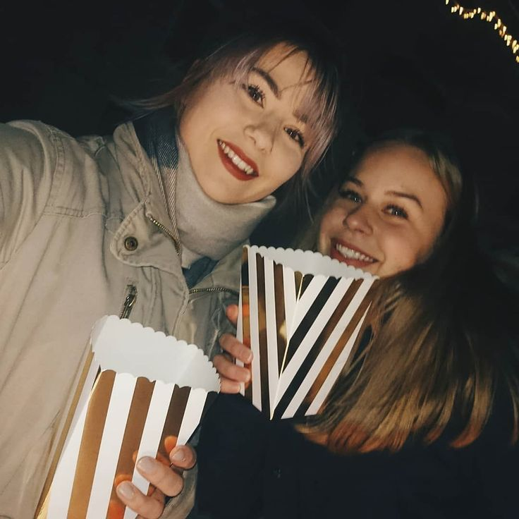 Ut på tur med popcorn