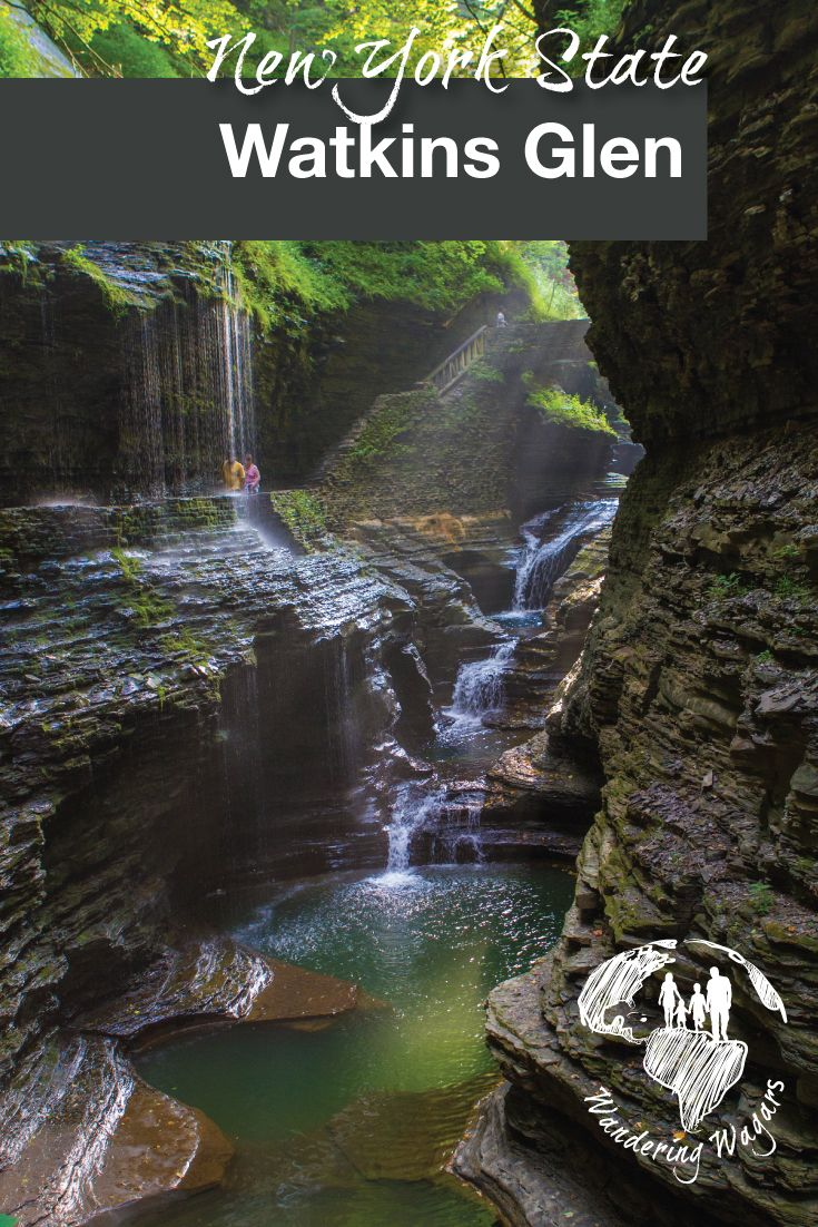 Watkins Glen State Park is an amazing place to visit with kids when visiting the Finger Lakes region of New York.