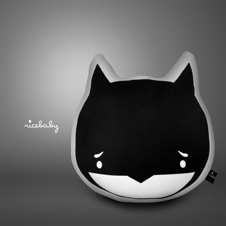Pillow Toy / Handmade pillow / Handmade cushion / Batman Pillow by RiceBabyShop on Etsy