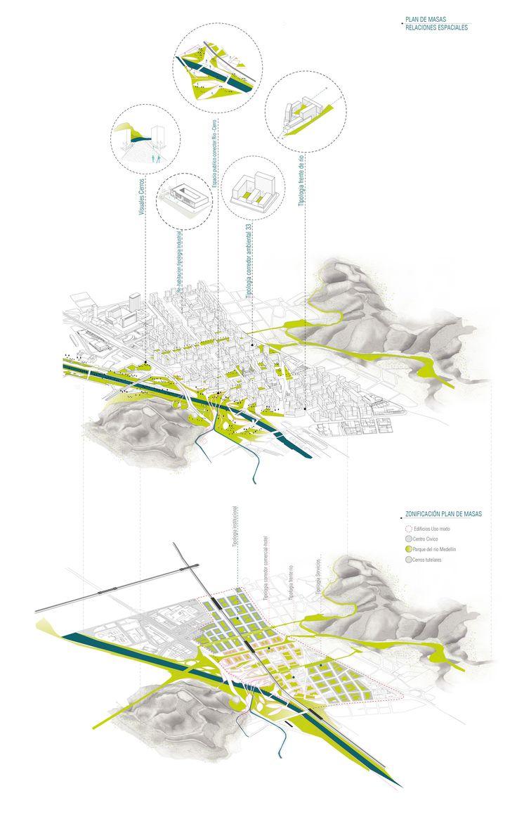 Galería - Célula Arquitectura, segundo y tercer lugar por plan maestro en cerros Nutibara y La Asomadera / Medellín - 34