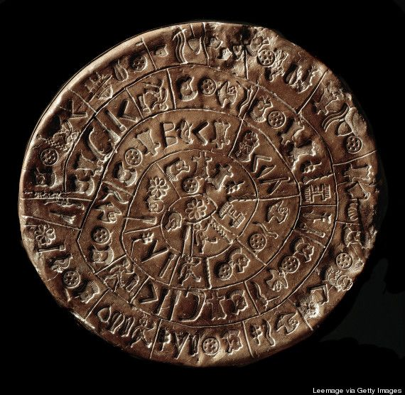 """Scientists have been trying to decipher the mysterious """"Phaistos Disk"""" ever since the 4,000 YO clay disk was discovered in 1908 on the Greek island of Crete. But no one seems to have been able to translate the mysterious language inscribed on the disk, which dates back to 1700 BCE & the height of the Minoan civilization -- until now. Click through for this fascinating article in its entirety."""