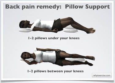25 best images about how to sleep with lower back pain on for Best sleeping position to relieve back pain