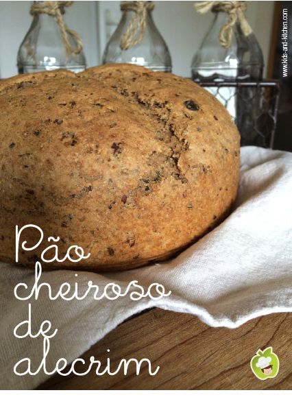 Receitinha: pão integral com sementes e alecrim