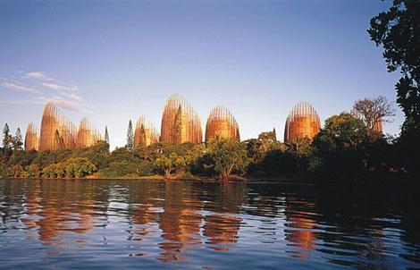Centre Culturel Tjibaou, Renzo Piano, Nouméa, Nouvelle-Calédonie Version Voyages, www.versionvoyages.fr