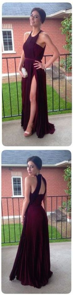 Halter Charming Real Made Prom Dresses,Long Evening Dresses,Prom Dresses