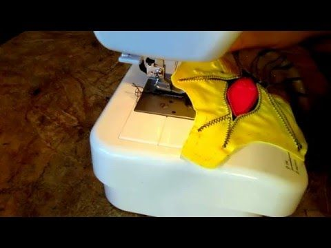 рукав с петелькой - YouTube