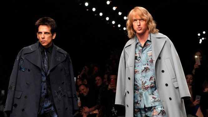 Ben Stiller and Owen Wilson Just Announced 'Zoolander 2' on Valentino's Runway