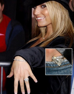 jessica simpsons wedding rings