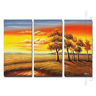 Decoupage Onto Canvas Using Oil Paints