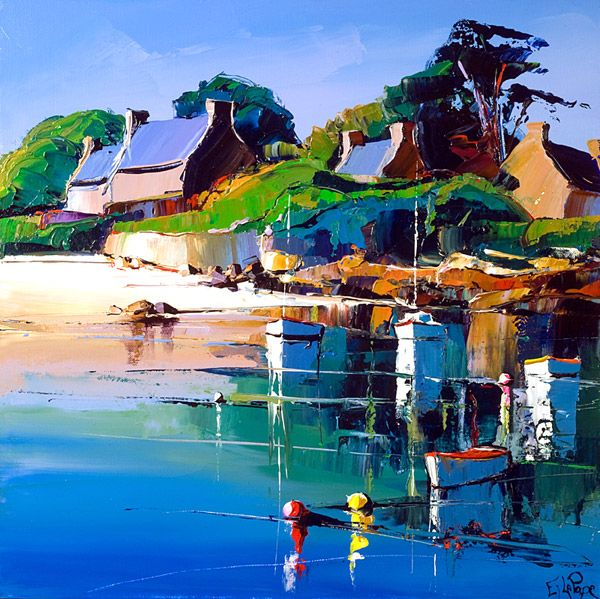Eric le Pape- contemporary French painter