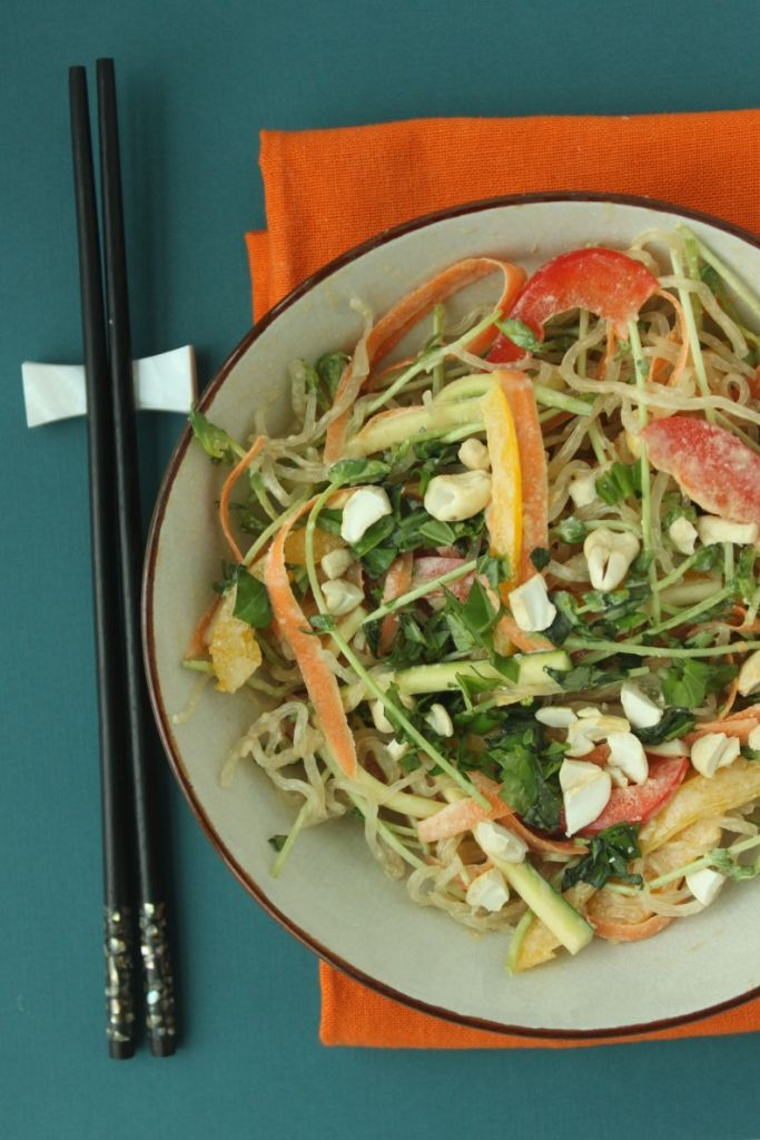 Raw Pad Thai / This recipe is much tastier than the Pad Thai you would find in a restaurant and it is #glutenfree, #vegan and #peanutfree! Was this the best Raw Pad Thai you've ever tasted? @Jesse Lane @JesseLWellness