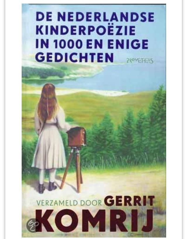 De Nederlandse kinderpoëzie in 1000 enige gedichten