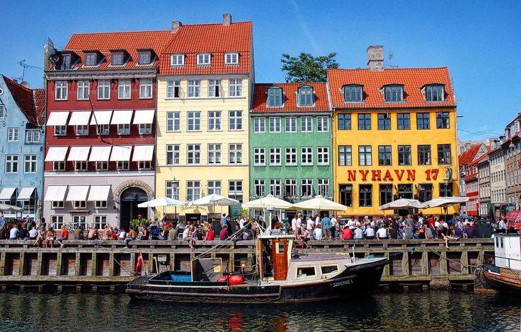 Denmark - Nyhavn, Copenhagen by Carlos Goulão on flickr