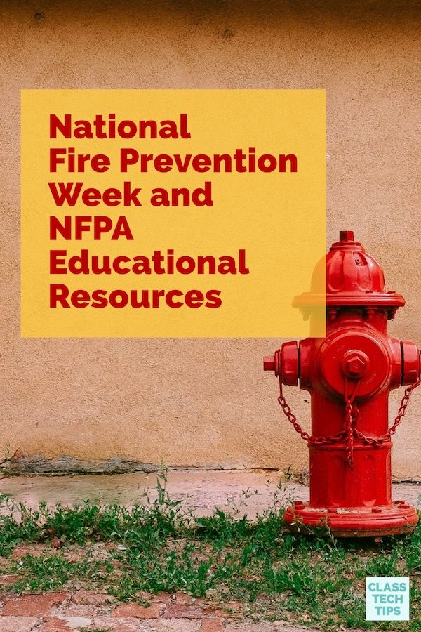 Did you know? October is Fire Prevention Month and next week marks the beginning ofFire Prevention Week (October 8th – 14th). As you prepare to incorporate Fire Prevention Week and Month into your classroom, The National Fire Protection Association (NFPA) has lots of resources including new items in 2017 – even a brand new app for kids for 2017 Fire Prevention Week. #Ad
