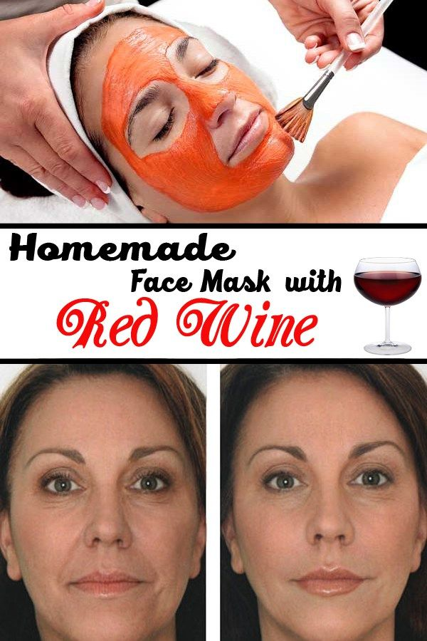 Ingredients: 3 tablespoons red wine 1 tablespoon honey 1 eggs white 1 teaspoon raw sugar Preparation and application: Combine all the ingredients in a bowl and then use the mixture to gently massage your face and your neck. Make circulation motions and be gentle, as the mixture contains raw sugar, which may be harsh on your skin, especially on first use. Leave the mask on for 10 minutes, then rinse with warm water. Pat dry your skin and enjoy the fresh look of a natural face lift.