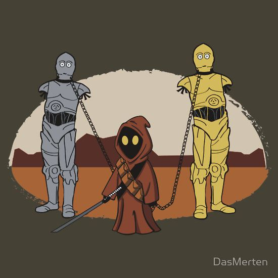 The Walking Droids - Star Wars + The Walking Dead