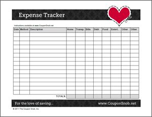 Worksheet Expense Tracking Worksheet expense tracker free printable and tools on pinterest