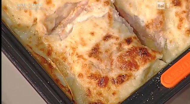 La+ricetta+della+parmigiana+di+patate+con+stracchino+e+mortadella