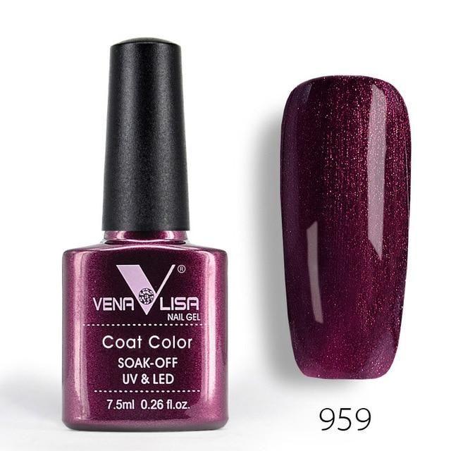 Vibrant Gel Nail Polish, 60 Colors, Perfect Manicure, High Reviews
